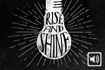 Rise And Shine Banner