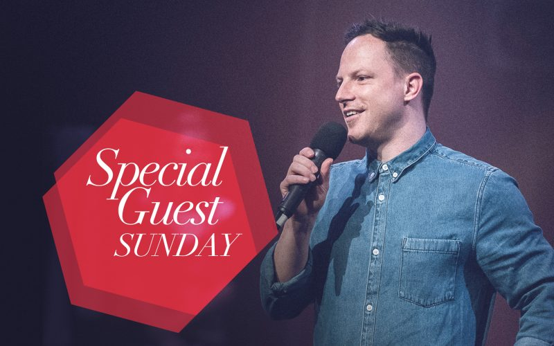 Featured Special Guest Sunday Mark Foster